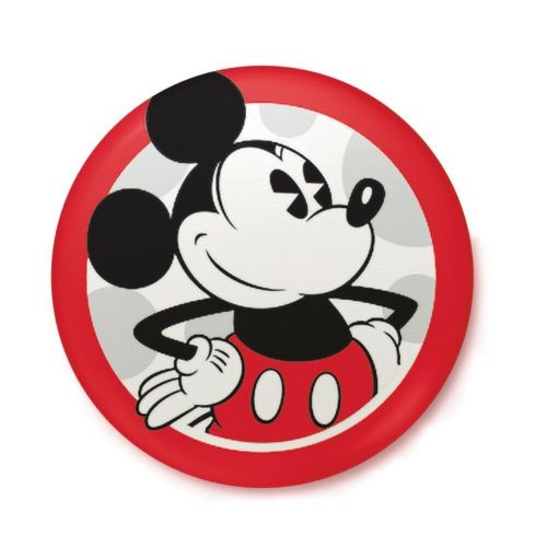 Disney Classic Mickey Mouse Pose Button Badge